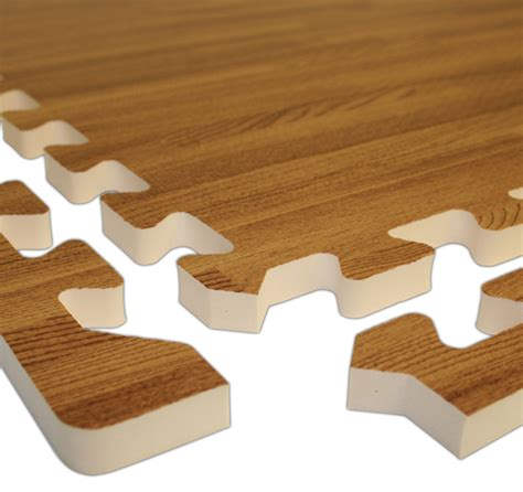 realsoft wood foam tiles are puzzle mats by floormats