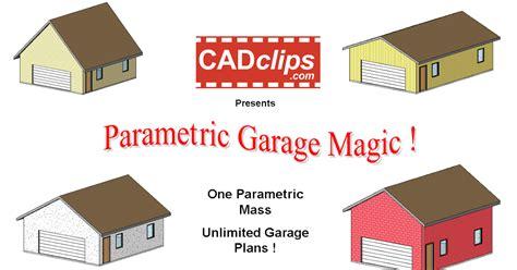 revit garage tutorial revit rocks revit parametric garage magic