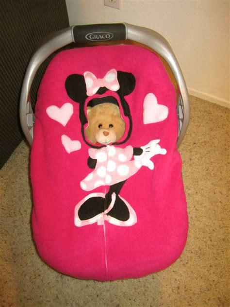 baby car seat snuggler minnie mouse stroller and carseat pink minnie mouse car