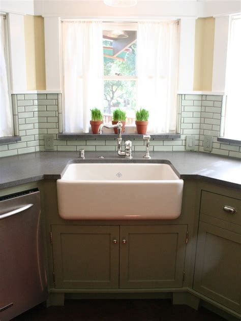 kitchen corner sinks corner kitchen sink the pad pinterest