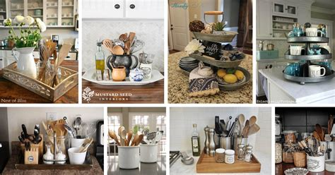 kitchen countertop organization ideas storage friendly organization ideas for your kitchen