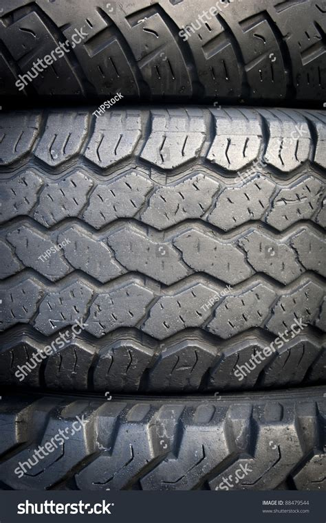 tread pattern en français tread patterns on old worn car tyres stock photo 88479544