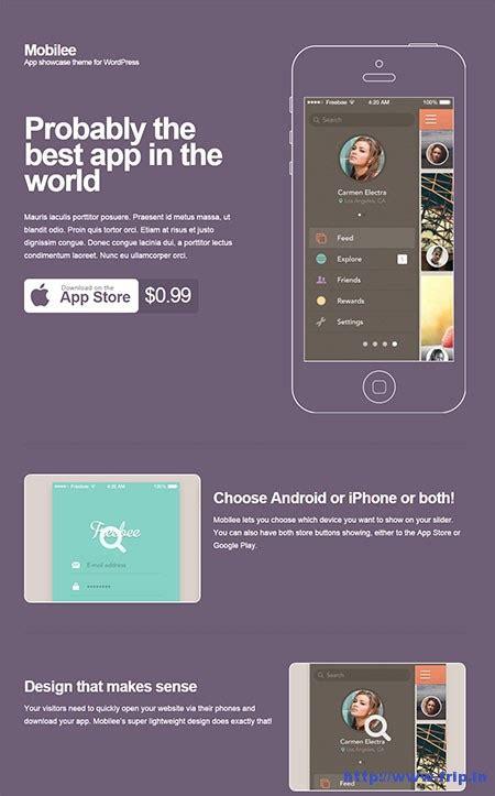 app showcase themes 40 best wordpress app showcase themes 2015 create your