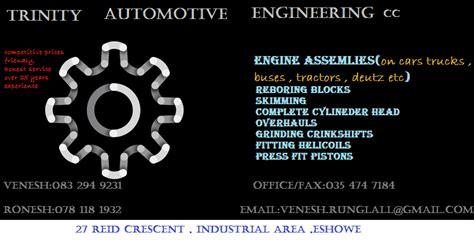 Trinity Automotive Engineering   Eshowe. Projects, photos