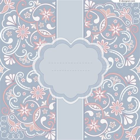 pattern vector elegant 4 designer elegant text background pattern vector material