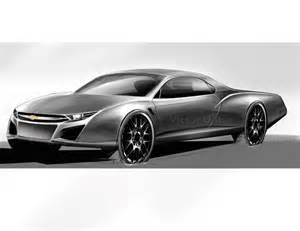 car design and my chevrolet quot el camino quot 2015 front