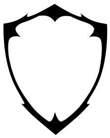 pin  vanessa olson  crafty lady shield logo shield