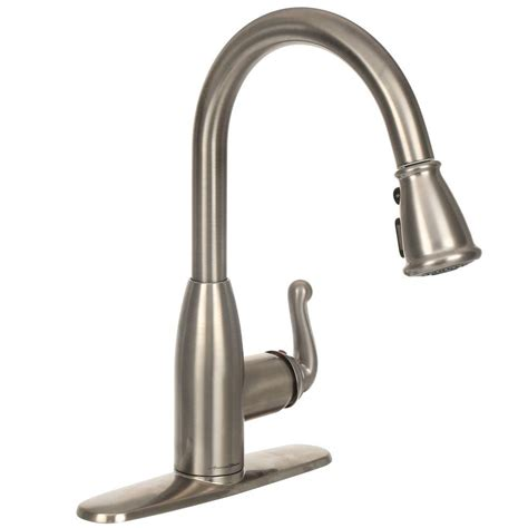 Usa Made Kitchen Faucets Pull Faucet American Standard Xavier Selectflo Pull 100 Single Handle Pull Out Kitchen
