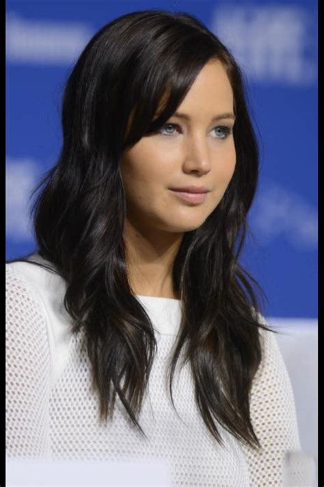 jennifer lawrence hair co or for two toned pixie love the dark hair and side bangs hairstyles pinterest