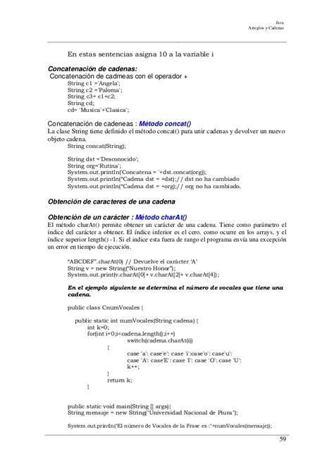 unir cadenas java programacion en java