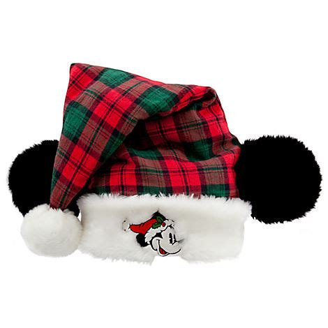 disney goofy santa hat your wdw store disney santa hat mickey mouse plaid