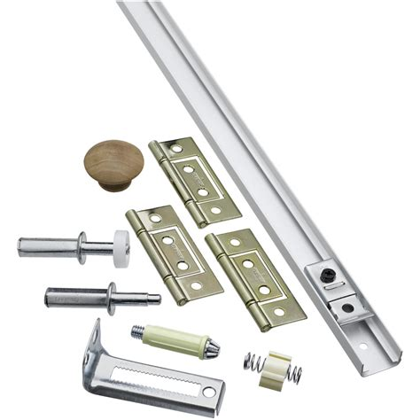 Shop National Hardware 1 Piece Bifold Closet Door Hardware Bi Fold Closet Door Hardware