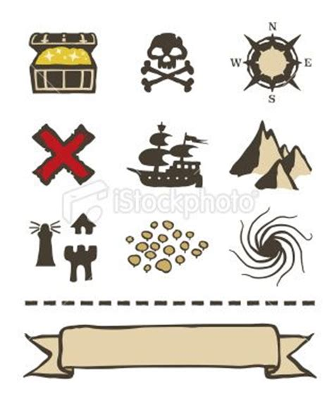 the gallery for gt treasure map legend symbols