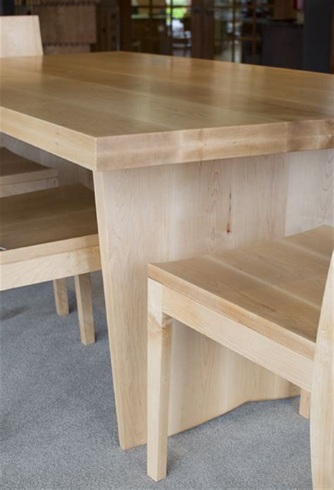 custom dining tables portland oregon custom maple dining table the joinery portland oregon