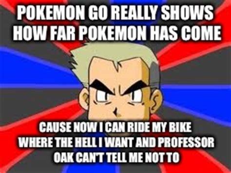 Professor Oak Meme - pokemon memes professor oak bike www pixshark com