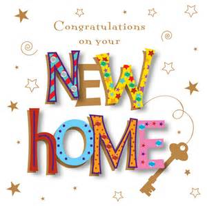 congrats new home handmade congratulations on your new home greeting card