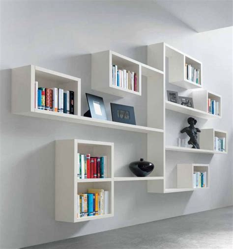 contemporary white shelves 15 cool contemporary designs for wall shelving systems