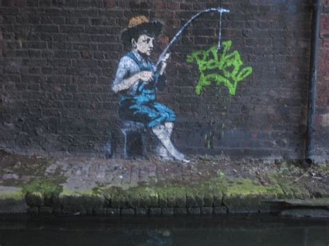 banksy pieces   camden town londonist
