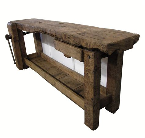 antique work bench antique 1900 french workbench omero home