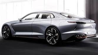 the new genesis car hyundai to take on bmw and with genesis g70 concept