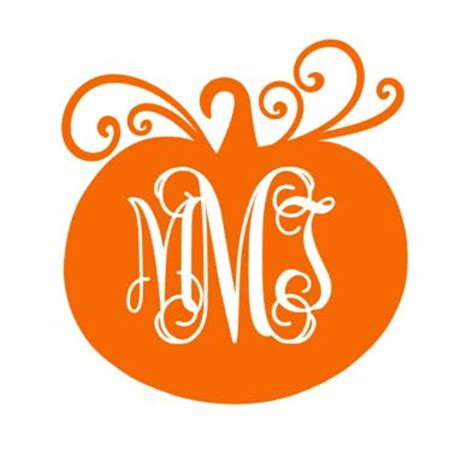 monogram pumpkin templates 1000 ideas about vinyl monogram on monogram