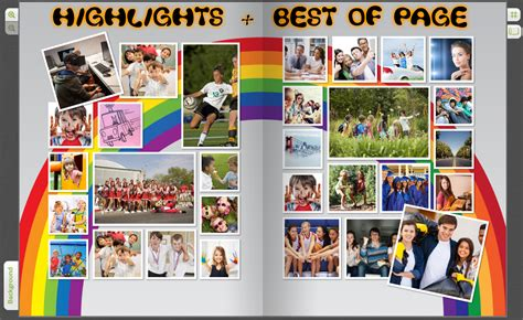 6 best images of layout yearbook themes yearbook ideas unique best of pages yearbook content ideas treering