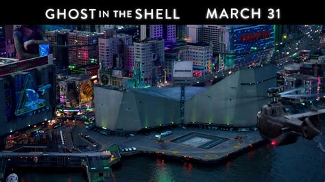 theaters march   ghost   shell