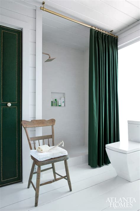 Contemporary Wallpaper For Bathrooms - modern clean amp hunter green ah amp l