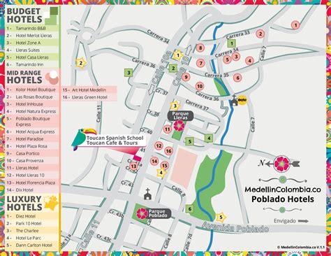 medellin map medellin hotels medellincolombia co