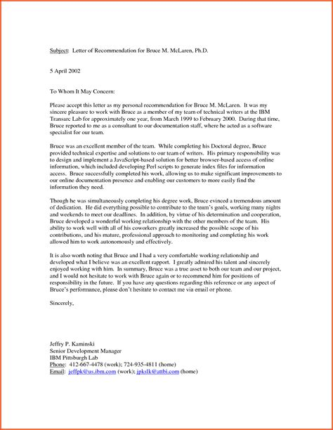 Letter Of Recommendation Vs Character Reference personal reference letter for co op board cover letter