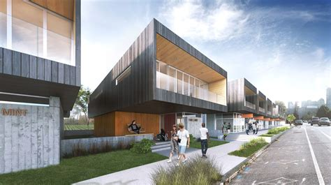 urban housing gallery of clark nexsen wins activate urban housing design competition with a food