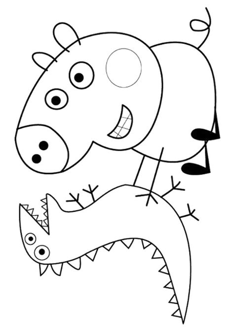 Peppa Pig Coloring Pages A4 | best 25 peppa pig baby alexander ideas on pinterest