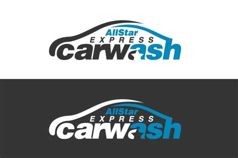 logo design for triple play express car wash by kreative