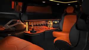Stretch Lamborghini Limo Lamborghini Aventador Stretch Limousine Concept Shown