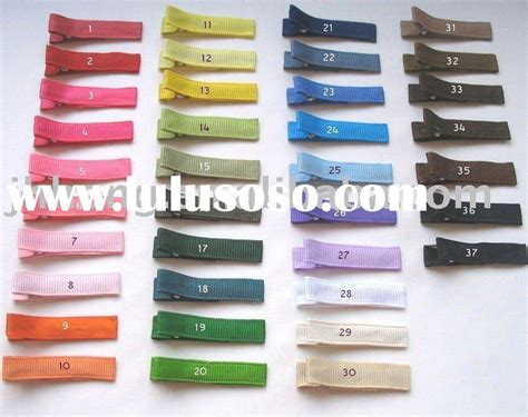 Plain Hair Clip alligator clip hair alligator clip hair manufacturers in