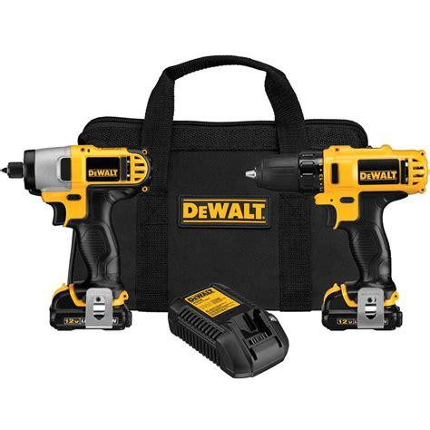 dewalt 12 volt max lithium ion cordless drill driver and