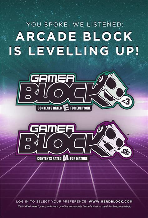 Blockers Age Rating Arcade Block Is Now Gamer Block 2 Age Ratings Available Hello Subscription