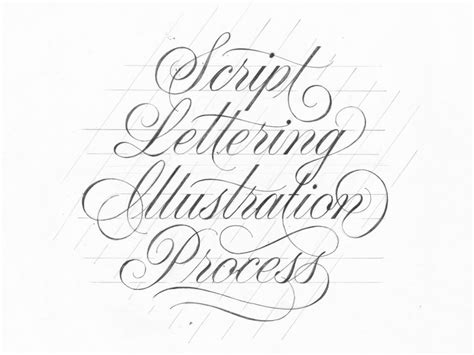 script lettering tutorial illustrator script lettering illustration process pies brand