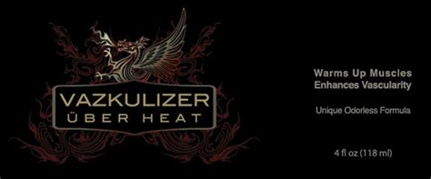 vazkulizer uber heat competition bodybuilding products protein king