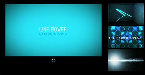 flash intro templates free line design flash intro template