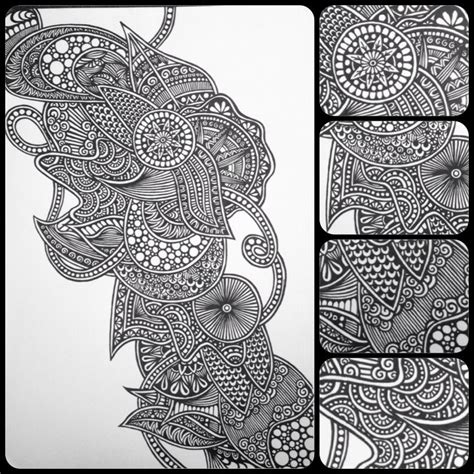 zentangle pattern drawing as meditation zentangle zendoodle mandala lineart doodleart sharpieart