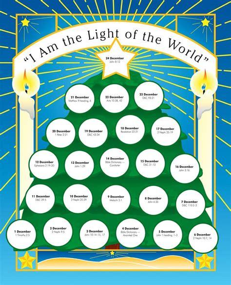 light of the world calendar light of the world christmas advent calendar pinterest