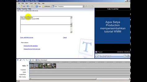 membuat video animasi dengan movie maker movie maker membuat teks animasi dengan mudah cepat youtube
