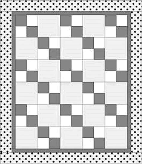 Easy Four Patch Quilt Pattern by Quilt Four Patch On Patch Quilt Block
