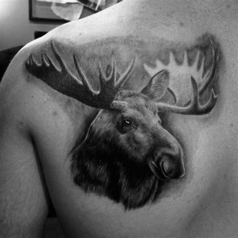 moose tattoo designs 60 moose designs for antler ink ideas