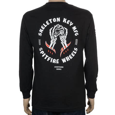 T Shirt Skeleton Key 6snx spitfire x skeleton key mfg at skate pharm