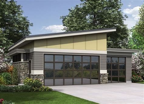 modern style garage plans 25 best ideas about shed roof on pinterest building a
