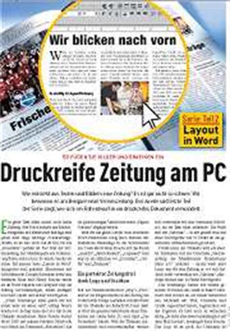 Vorlage Word Zeitung Word Vorlage Vereinszeitung Chip