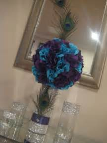 Handmade Centerpiece Ideas - 33 gorgeous peacock centerpieces table decorating ideas