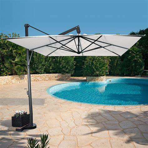 ombrelloni da giardino a braccio ombrellone da giardino a braccio laterale 4x4 pitagora